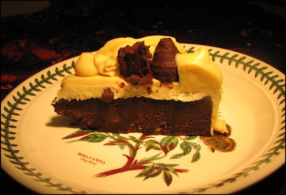 Tuxedo Truffle Torte