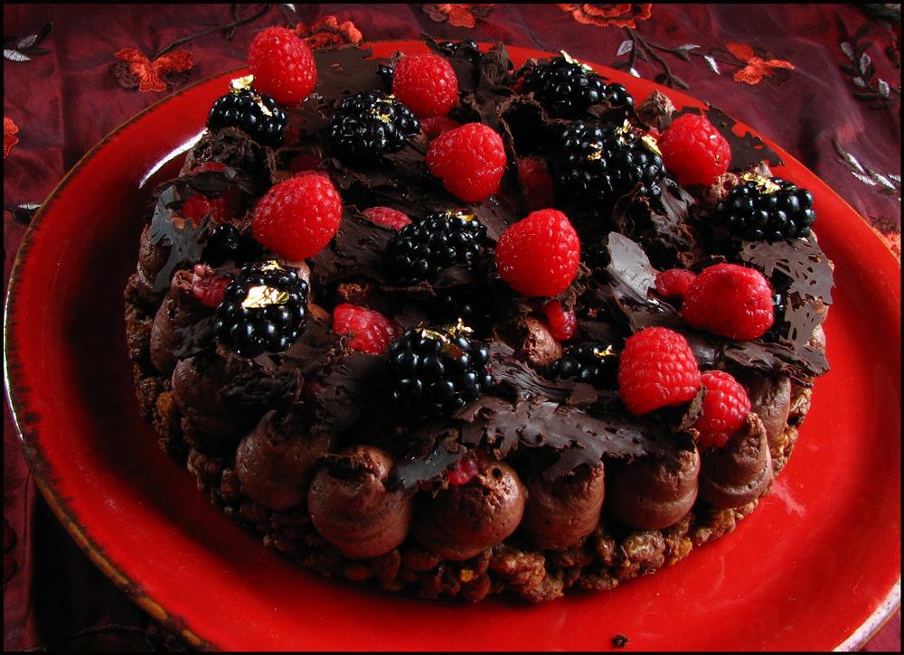 Blackberry, Raspberry & Chocolate Fantasy